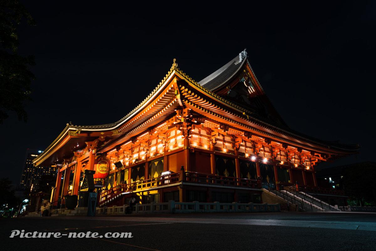 TAMRON 17-28mm F2.8 A046 で撮る浅草寺