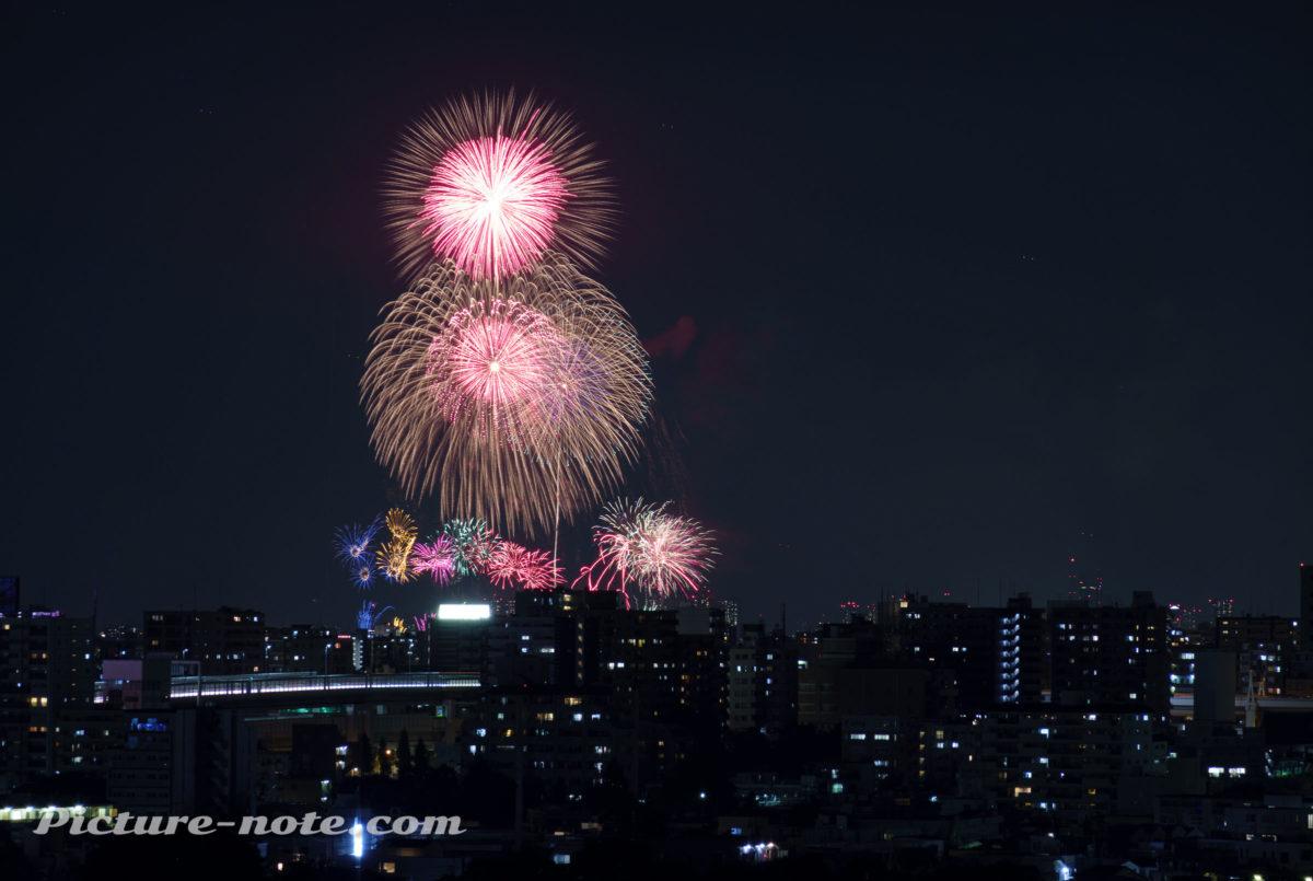 いたばし花火大会2019